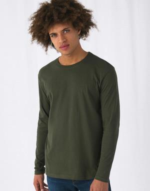 T-shirts coupe droite b & c transfert numerique kaki