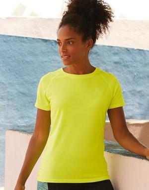 T-shirts techniques vert