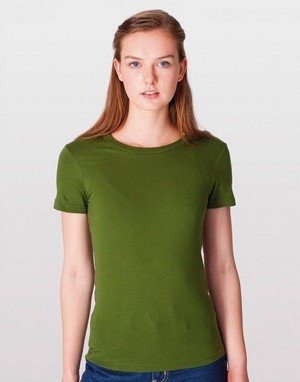 T-shirts flocage gris american apparel