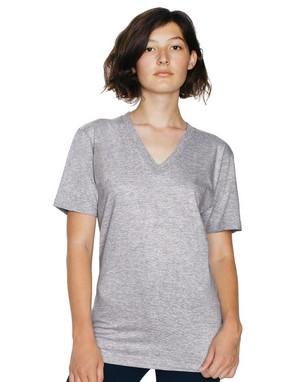 T-shirts col v unisexe