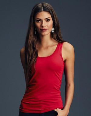 T-shirts débardeur anvil transfert numerique rouge
