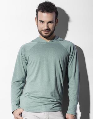 T-shirts coupe droite avec capuche