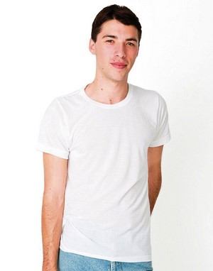 T-shirts coupe droite american apparel