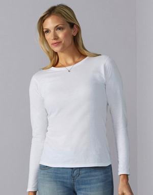 T-shirts manches longues coupe droite transfert numerique