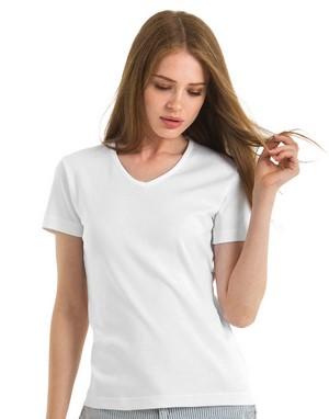 T-shirts femme col v