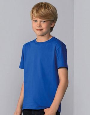 T-shirts coupe droite impression directe marron