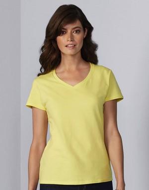 T-shirts col v impression directe publicitaire
