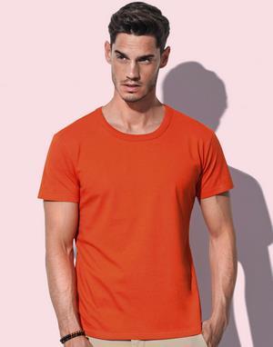 T-shirts homme sans étiquette au col stars by stedman flocage violet