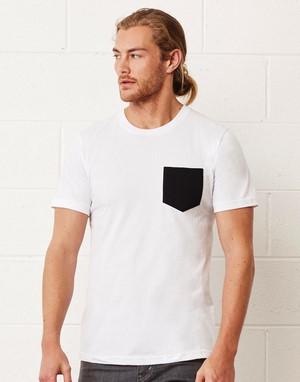 T-shirts avec poche transfert numerique