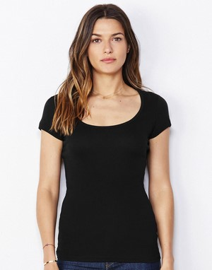 T-shirts bella impression directe marron