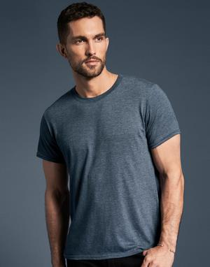 T-shirts col rond poly-coton