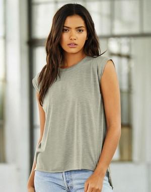 T-shirts sans manches flocage violet
