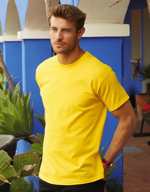 T-shirts homme fruit of the loom transfert numerique