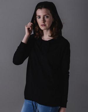 T-shirts femme avec capuche mode
