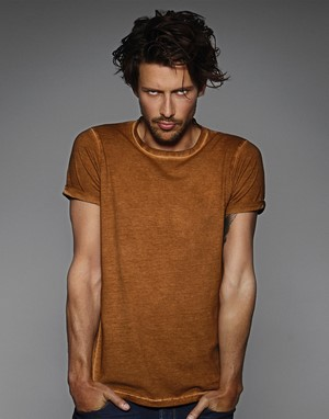 T-shirts impression directe marron