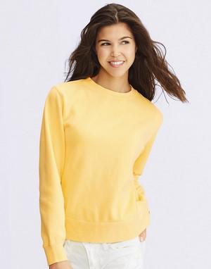 Sweats-shirts coupe cintrée flocage marron