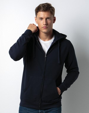 Sweats-shirts avec zip kustom kit broderie