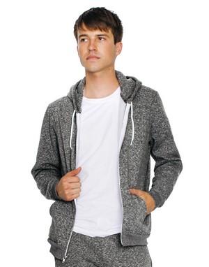 Sweats-shirts avec zip unisexe broderie