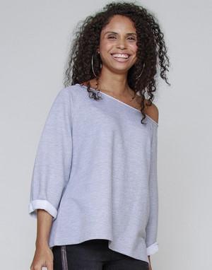 Sweats-shirts coupe oversized