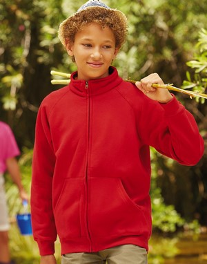 Sweats-shirts enfant fruit of the loom flocage