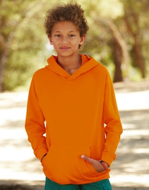 Sweats-shirts fruit of the loom flocage orange