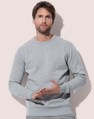 Sweats-shirts sans étiquette au col gris