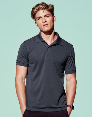 Polos 100 % polyester flocage
