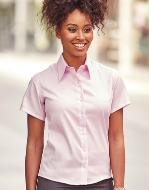 Chemises 100% coton rose