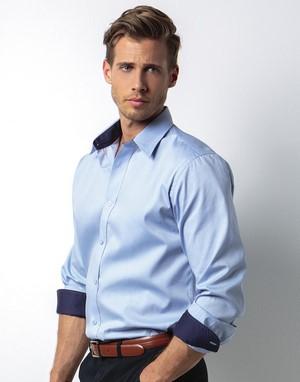 Chemises homme sans poche col italien
