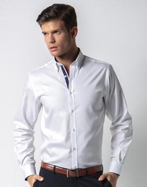 Chemises manches longues transfert numerique col avec boutons