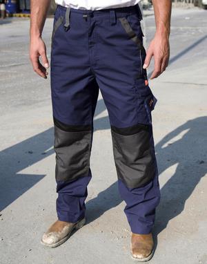 Pantalons de travail bicolor transfert numerique