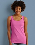 T-shirts coupe cintrée flocage Gildan Ladies Soft Style Tank Top Gildan
