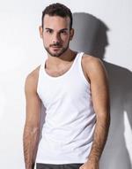 T-shirts débardeur transfert numerique Louis - Débardeur homme no label Nakedshirt