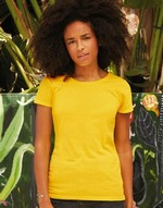 T-shirts coupe cintrée flocage Original T Lady-Fit Fruit of the Loom