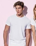T-shirts flocage Finest Cotton-T Men Stars by Stedman