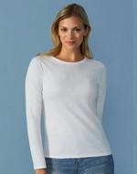 T-shirts femme Ladies' T-Shirt LS Gildan