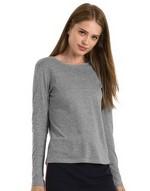 T-shirts femme Ladies Longsleeve T-Shirt B & C
