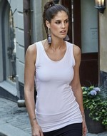 T-shirts femme avec elastanne Ladies Stretch Top Extra Long Tee Jays