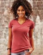 T-shirts femme russell Ladies V-Neck HD Tee Russell