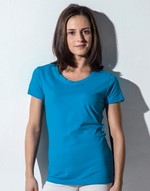 T-shirts femme Susan - Women`s Scoop Neck T-Shirt Nakedshirt