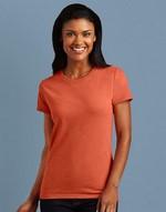 T-shirts femme broderie Tee-shirt femme épais Gildan