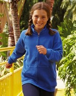 Sweats-shirts enfant Kids Sweat Jacket Fruit of the Loom