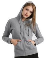 Sweats-shirts Hooded Zip Sweat B & C
