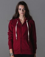 Sweats-shirts avec zip mantis Women`s Superstar Zip Through Hoodie Mantis