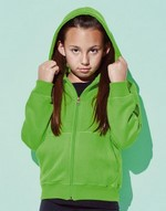Sweats-shirts sans étiquette au col Active Sweatjacket Kids Active by Stedman