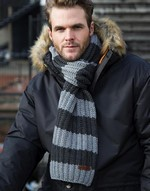 Gants et écharpes Chunky Knit Stripe Scarf Result