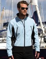 Vestes légères bicolor Soft Shell Activity Jacket Result