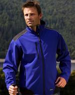 Vestes légères bicolor Ripstop Soft Shell Work Jacket Result