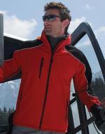 Vestes légères bicolor Ice Fell Hooded Softshell Jacket Result