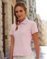 Polos fruit of the loom Ladies Fitted Poloshirt Fruit of the Loom